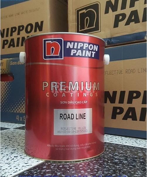 Mua sơn phản quang Nippon màu trắng lon 5 lit cho bãi đậu xe tầng hầm