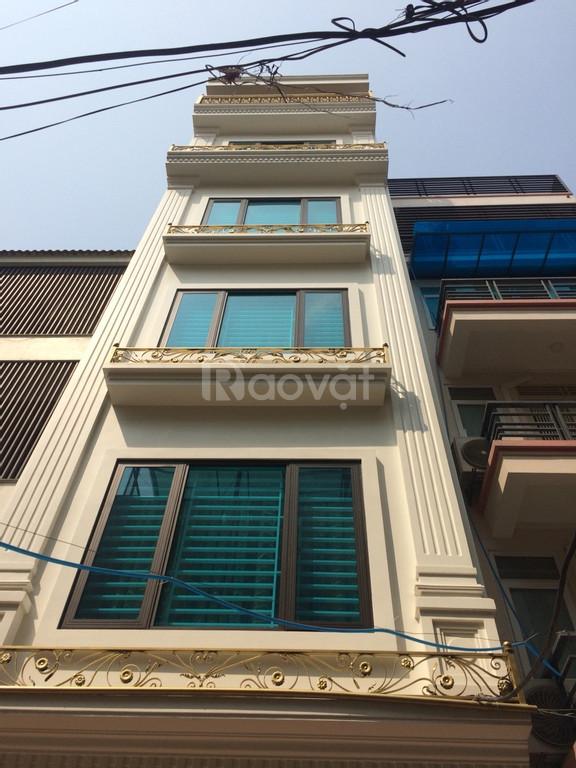 Bán nhà view Hồ Hoàng Cầu 50m x 5 tầng thang máy, ô tô vào nhà, kinh doanh, mt 4.5m