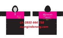 Áo mưa in logo, áo mưa in thương hiệu quảng cáo tại Quảng Nam