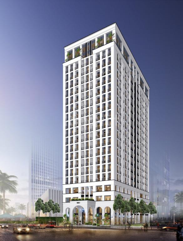 Tòa nhà văn phòng, khách sạn đẳng cấp mặt phố Ba Đình, 255m2, MT 10m