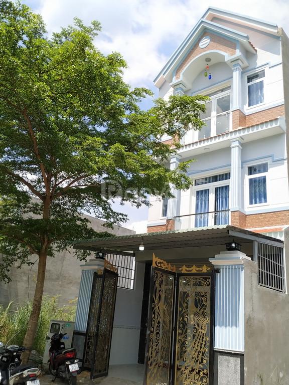 Nhà mới xây, Đinh Đức Thiện, chợ Bình Chánh 80m2 SHR