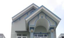 Bán nhà 2 lầu hoàn thiện ở khu Long An – Bình Chánh