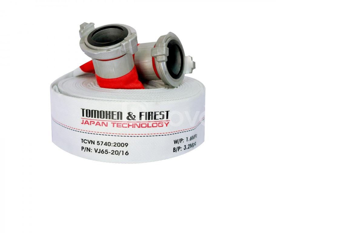 Cuộn vòi chữa cháy Tomoken Nhật Bản D65 x 20m x 16bar