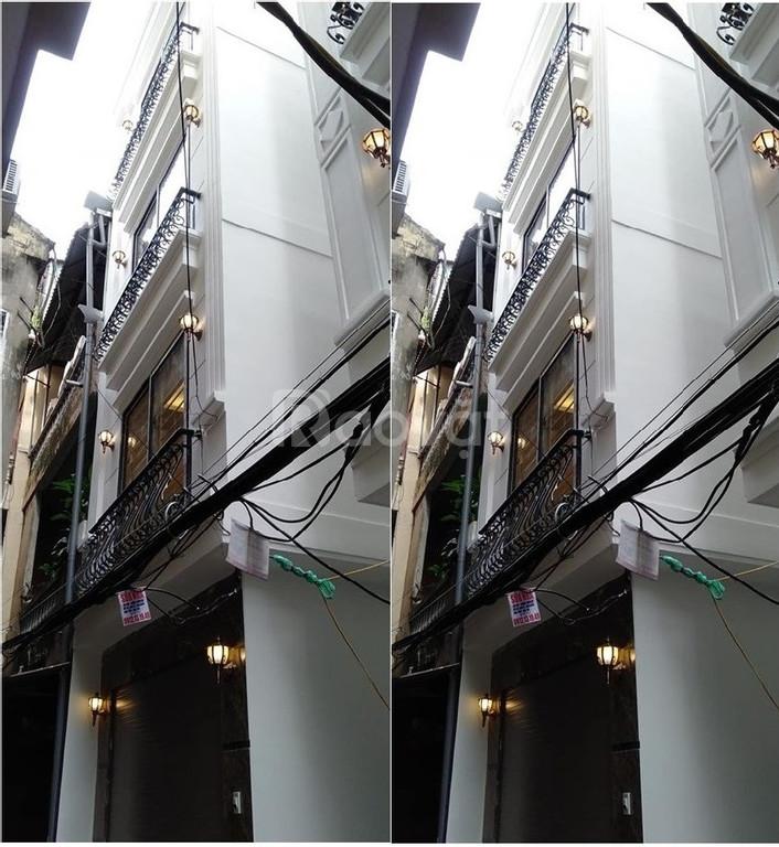 Bán nhà phố 8/3 Quỳnh Mai, Hai Bà Trưng, thiết kế hiện đại, ngõ thông