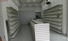 Các mẫu tủ kệ trưng bày cho các shop giày dép