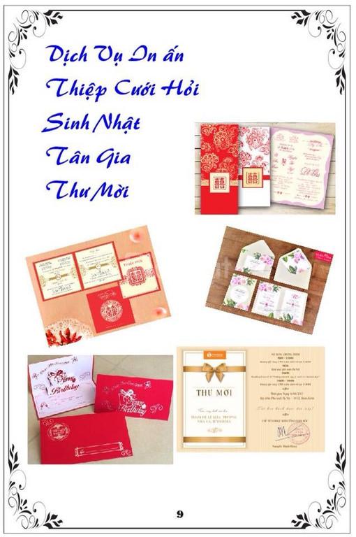 Dịch vụ in ấn chuyên nghiệp tại Trà Vinh