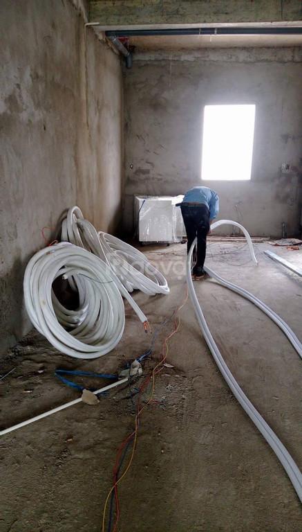 Đơn vị nhận thi công đường ống đồng máy lạnh âm tường giá rẻ