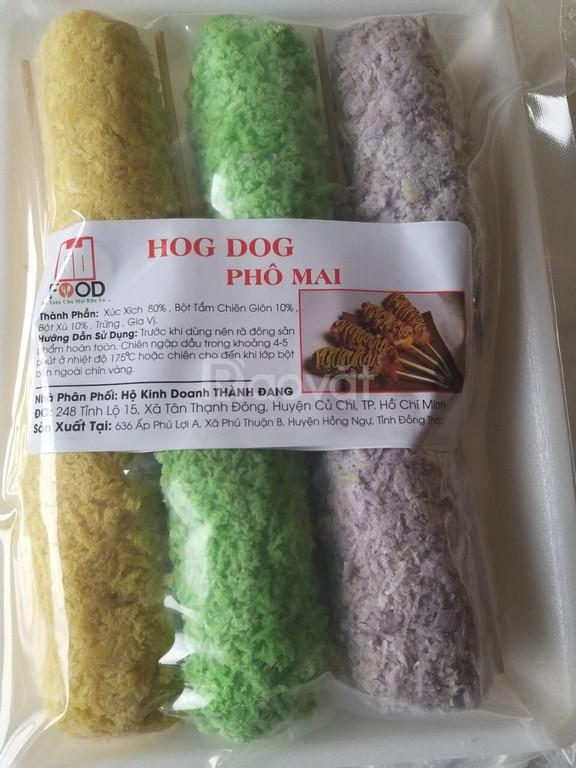 Nơi cung cấp Hot dog phô mai tại Đồng Nai