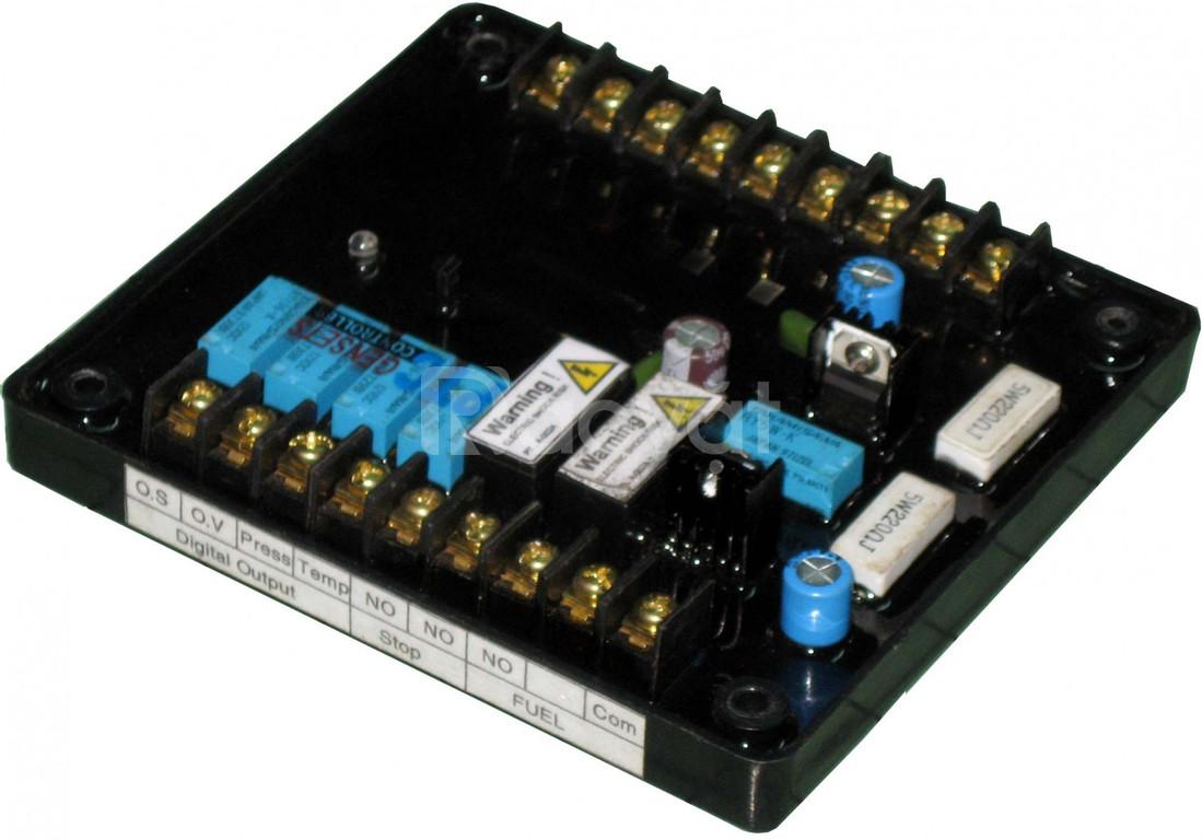 Broad bảo vệ nhiệt độ nước cao, áp lực nhớt thấp máy phát điện