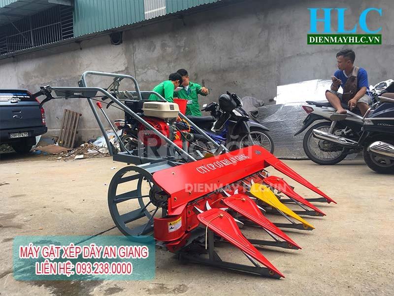 Cách lắp máy gặt lúa xếp dãy cầm tay An Giang
