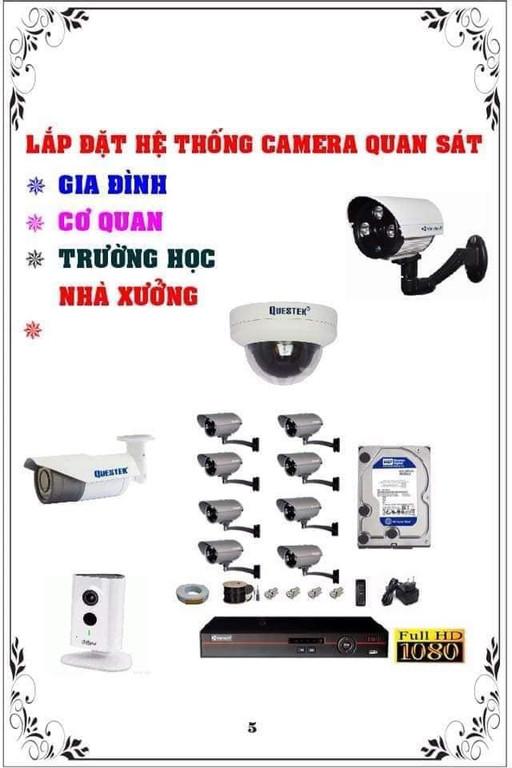 Đặt hệ thống camera quan sát tại Trà Vinh