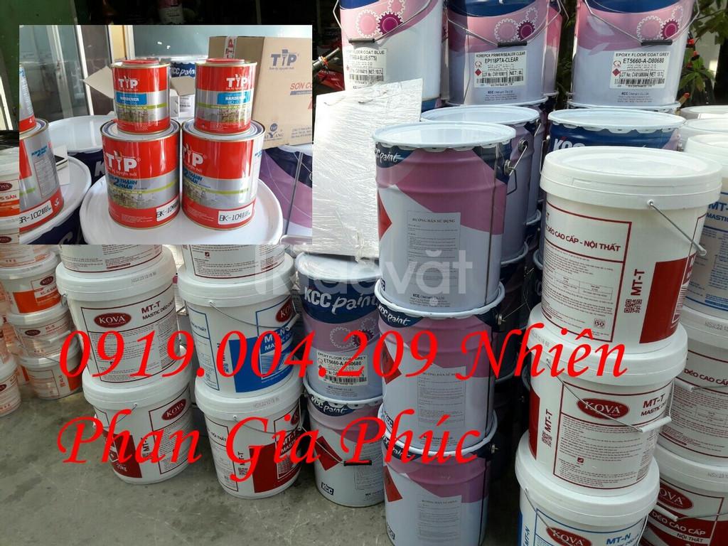 Sơn nước kova bán bóng k5500, k5501 giá rẻ