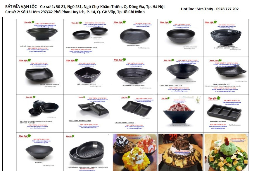 Bát đĩa nhà hàng cao cấp, chất lượng hàng đầu, gía rẻ