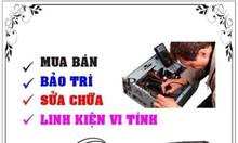 Mua bán, sữa chữa máy tính PC, laptop uy tín tại Trà Vinh