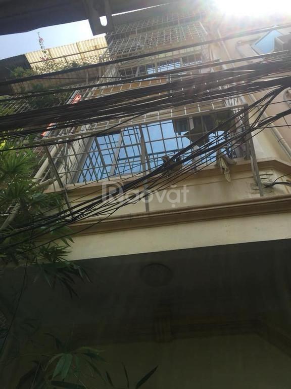 Bán nhà đẹp Hào Nam, ngõ thông, xe ba gác, 31m2, 4 tầng, 3,1 tỷ