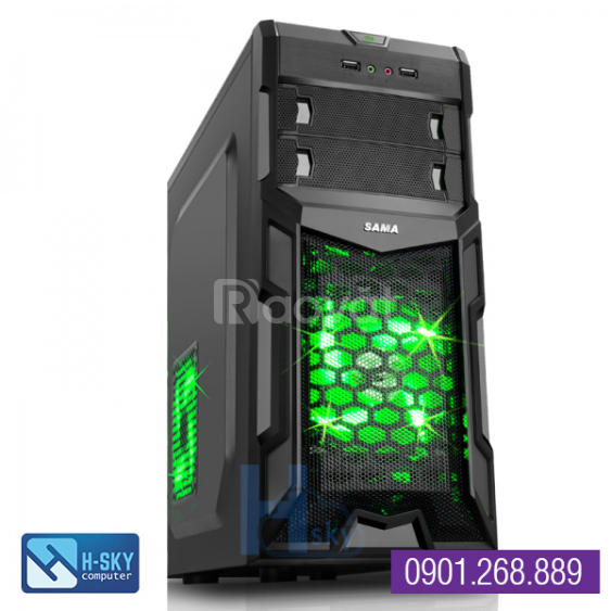 Máy tính để bàn cũ giá rẻ: H61-G2020-Ram 4Gb