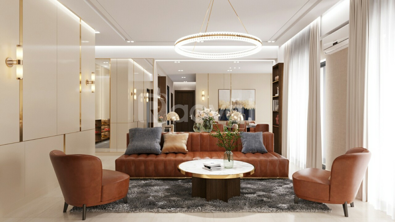 Cho thuê Penthouse Centana Thủ Thiêm nội thất cao cấp