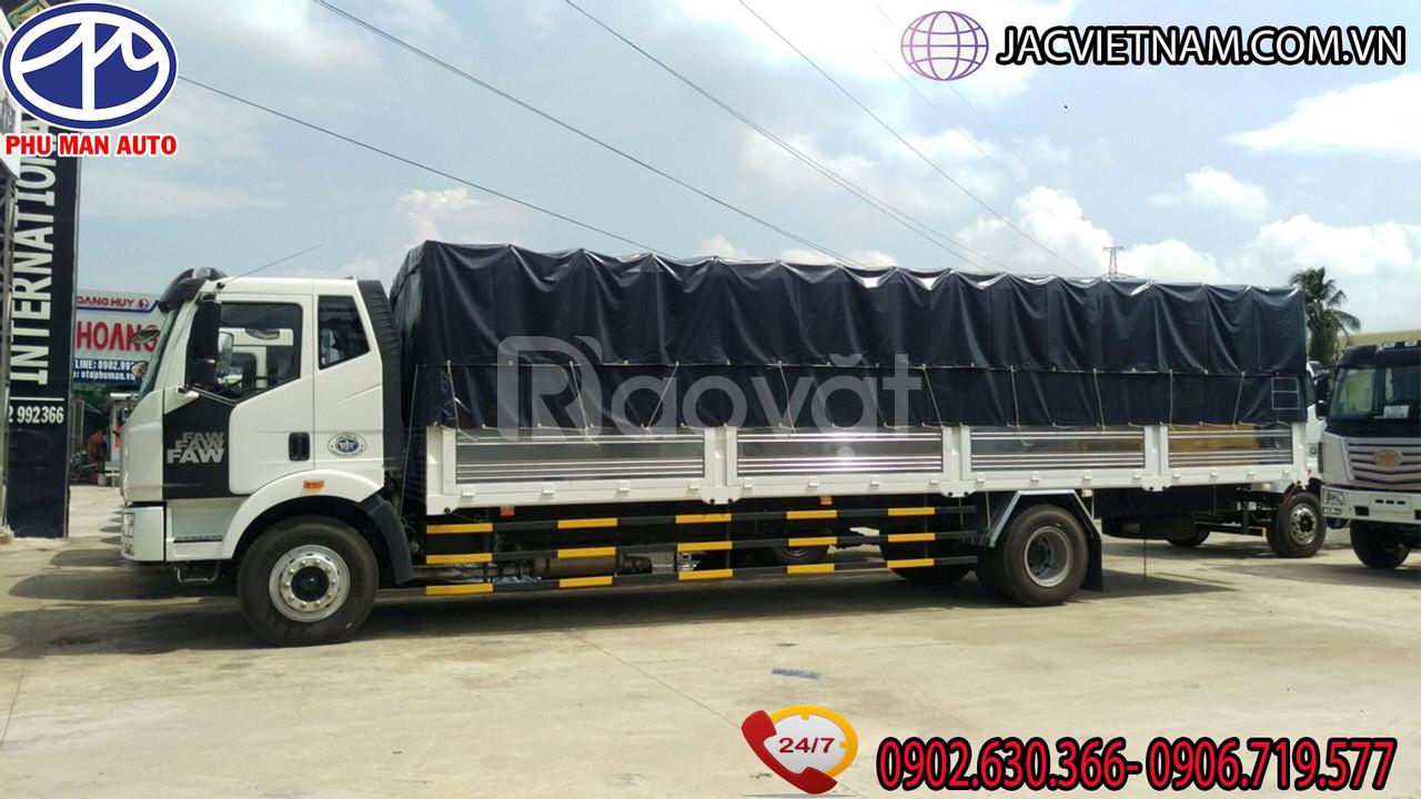 Công ty thanh lý lô xe Faw 7T25 thùng dài 9m7-xe nhập 3 cục,giá ưu đãi