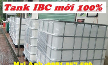 Tank nhựa đựng hóa chất,tank IBC, bồn nhựa 1000l