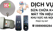 Lắp đặt truyền hình k+ kplus tại Quận Long Biên xem bóng đá