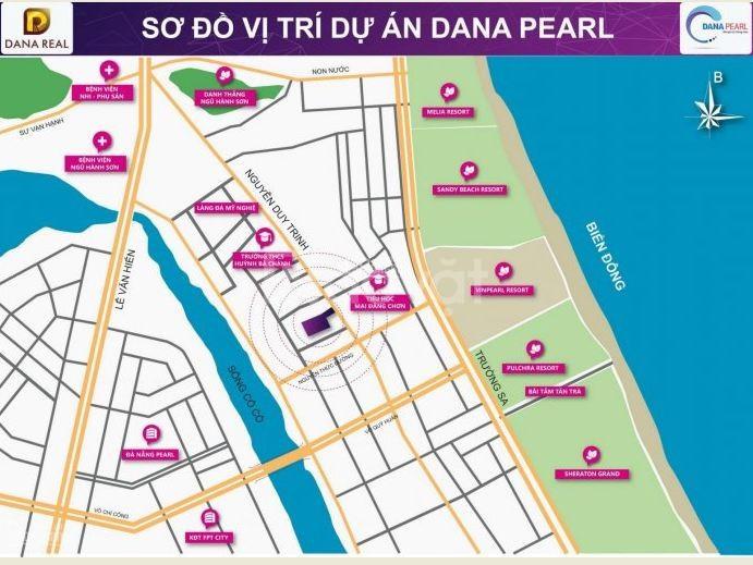 Dự án Dana Pearl - Đất nền Ngũ Hành Sơn đầu tư tốt