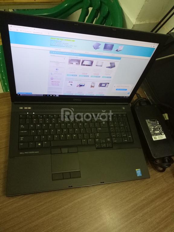 Dell Precision M6800 - Core i7 - Ram 16G - 2 ổ cứng: 256GB + 1TB