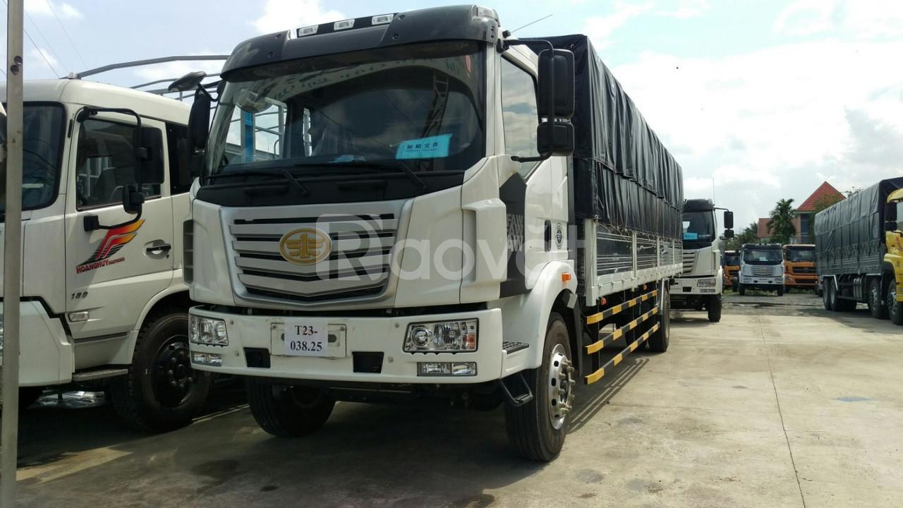 Bán xe tải FAW 7T25 thùng dài 9m7, xe nhập khẩu giá tốt