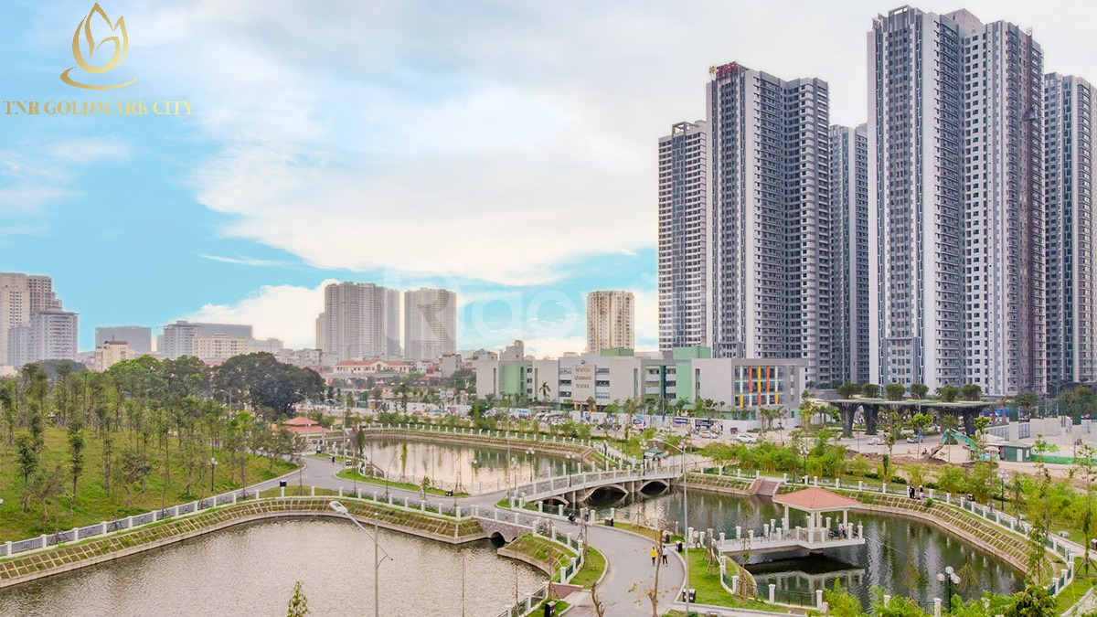 Cần bán căn 2 ngủ lô góc siêu đẹp KĐT Goldmark City,136 Hồ Tùng Mậu.