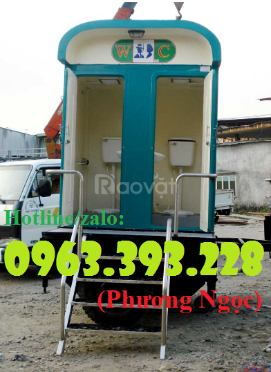 Nhà vệ sinh di động, nhà vệ sinh côngcộng