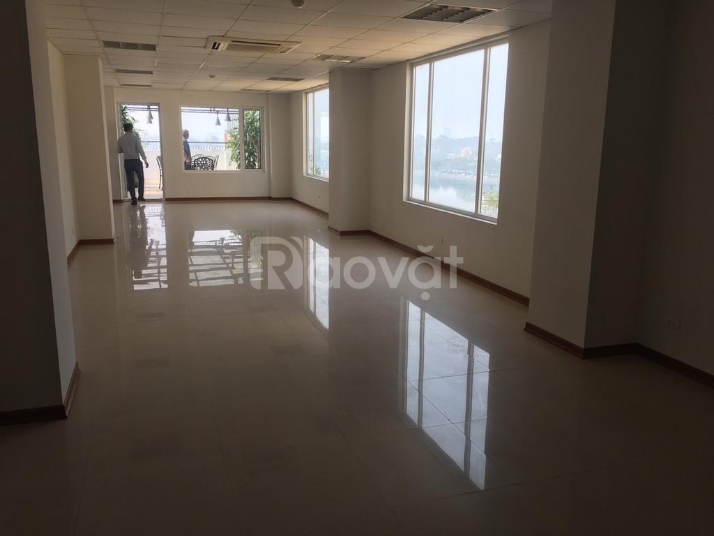 Cho thuê sàn văn phòng 80m2 giá 19tr/th 111 Hoàng Văn Thái