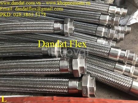 Nhà sản xuất: Khớp nối mềm inox lắp ren các loại (ống nối mềm inox)
