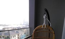 Ghế xích đu mây tre đan tự nhiên