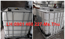 Bồn nhựa 1000 lít đựng hóa mỹ phẩm,thùng nhựa ibc 1000l