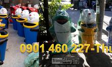 Thùng rác con chuột túi, gấu trúc giá rẻ tại TPHCM