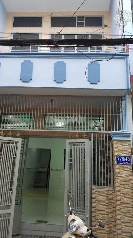 Cho thuê nhà ở và kinh doanh 1 trệt 1 lầu 64m2 Thống Nhất, p15, Gò Vấp