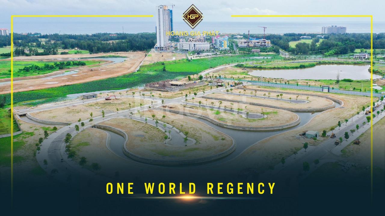 Ra mắt dự án One World Regency cao cấp 5 tuyệt tác ven sông Cổ Cò