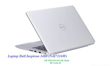 Laptop Dell Inspiron 3480 (N4I7116W)
