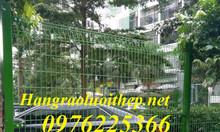 Hàng rào mạ kẽm bảo vệ khu công nghiệp - Lưới Thép Mạ Kẽm