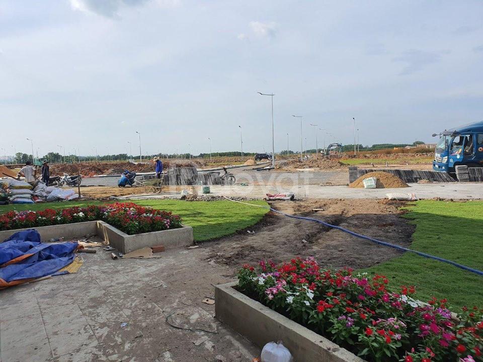 Đất nền ngay trung tâm Nhơn Trạch, mặt tiền 30m, giá chỉ 12tr/m2