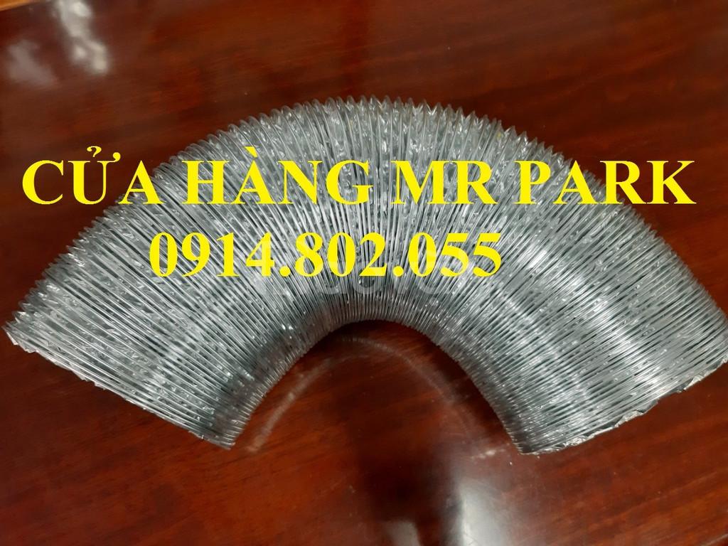Ống gió mềm nhôm chính hãng phi 125- cửa hàng Mr.Park - giá tốt
