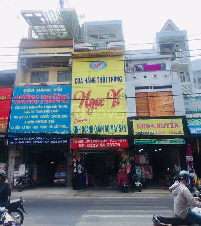 Bán mặt tiền kinh doanh, đường Thích Quảng Đức, Phú Nhuận 70m2(5X14)
