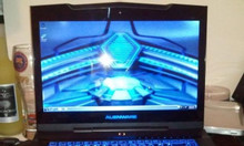 Laptop Dell Alienware M15x Cpu i7 8cpu ram8G SSD128G +HDD 500G