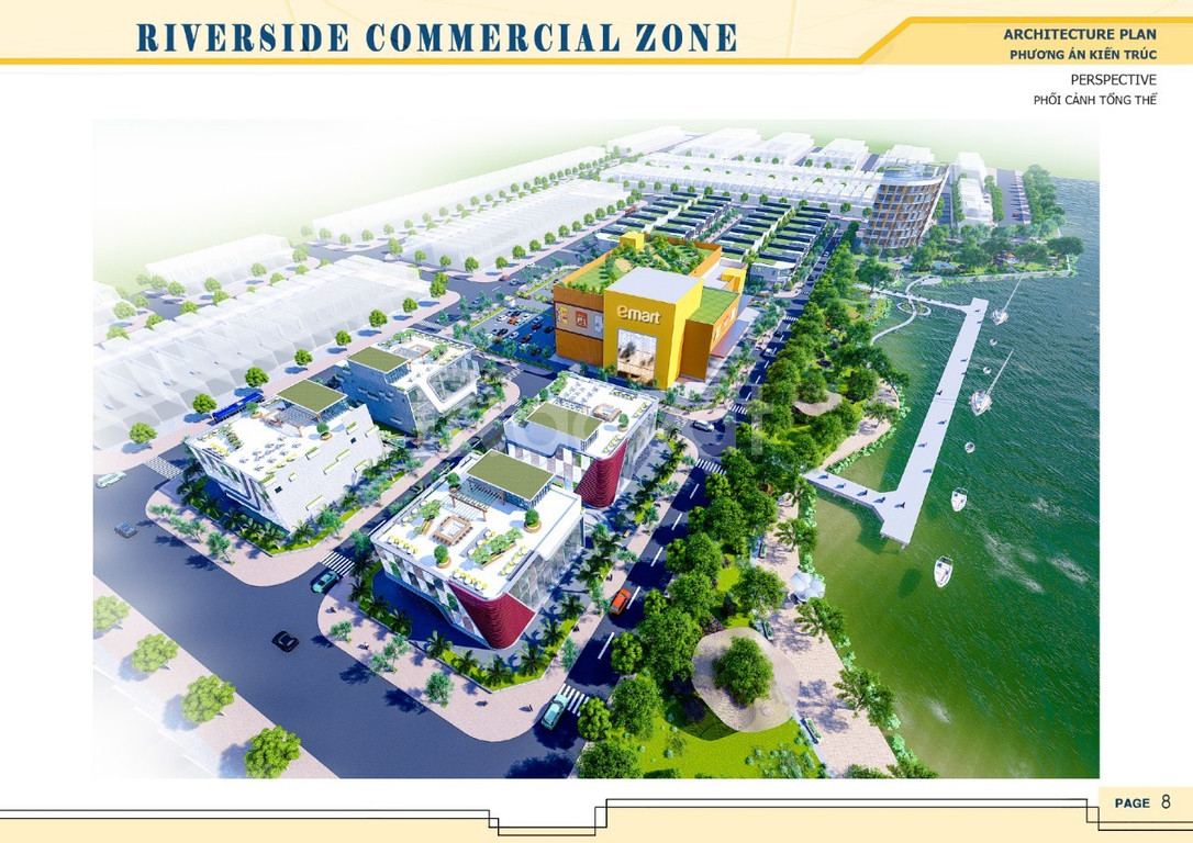 Mở bán dự án trung tâm Tp Bạc Liêu, Bạc Liêu Riverside Commercial