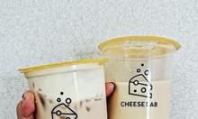 In ly nhựa giá rẻ Ly trà sữa, ly trà bí đao, ly đáy bầu, nắp tim...