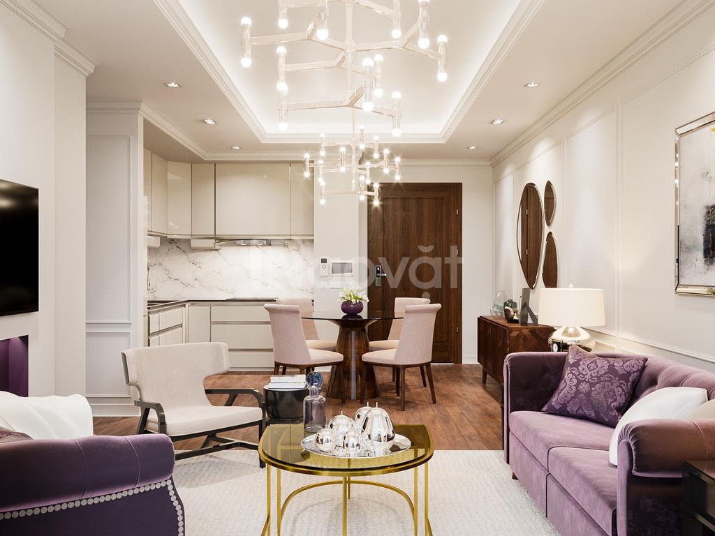 Bán căn hộ chung cư HDI 55 Lê Đại Hành, diện tích 77-110m2, giá 90tr