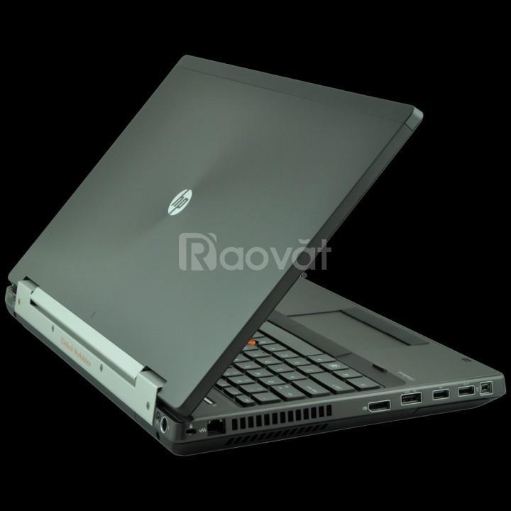 Laptop HP 8560W i7 2720QM 8 nhân Ram 16G SSD 240G Game GTA5, Pubg