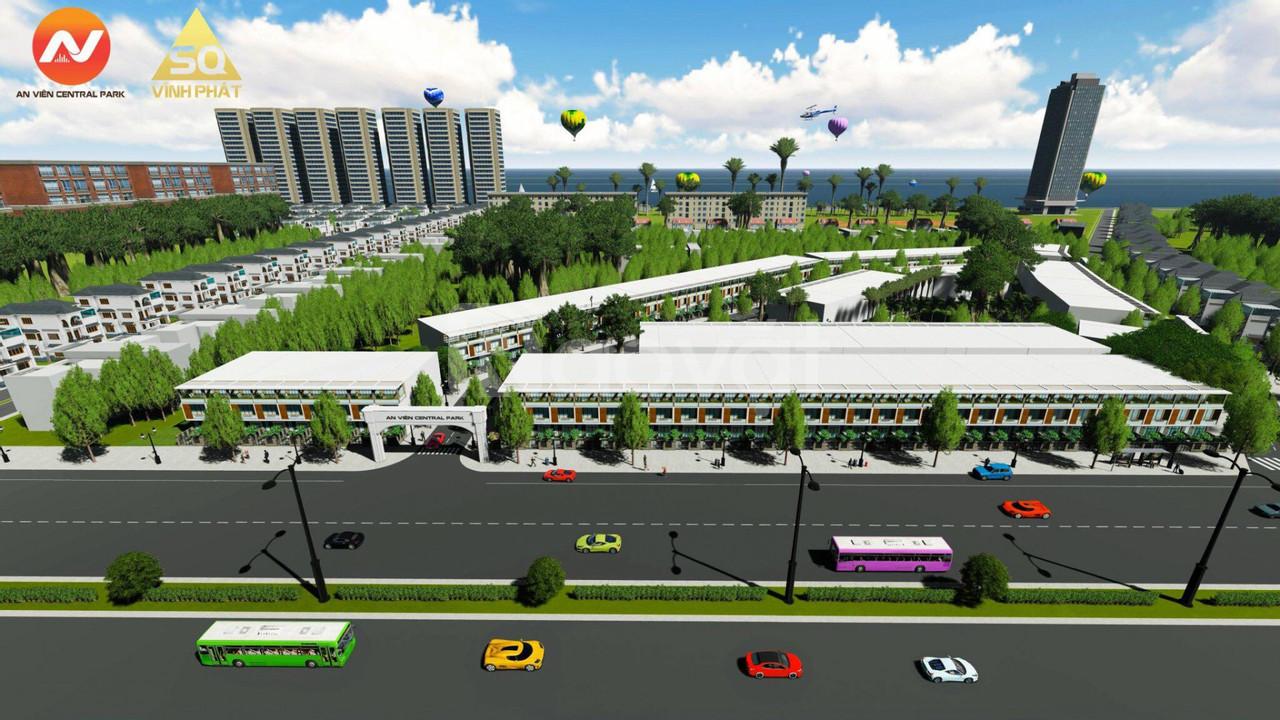 Dự án khu đô thị An Viên Central Park ven biển Vũng Tàu 750tr