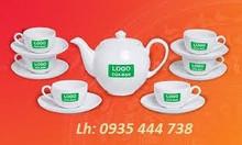 In ấn logo bộ ấm trà, bộ ly tách, cốc sứ tại Quảng Ngãi