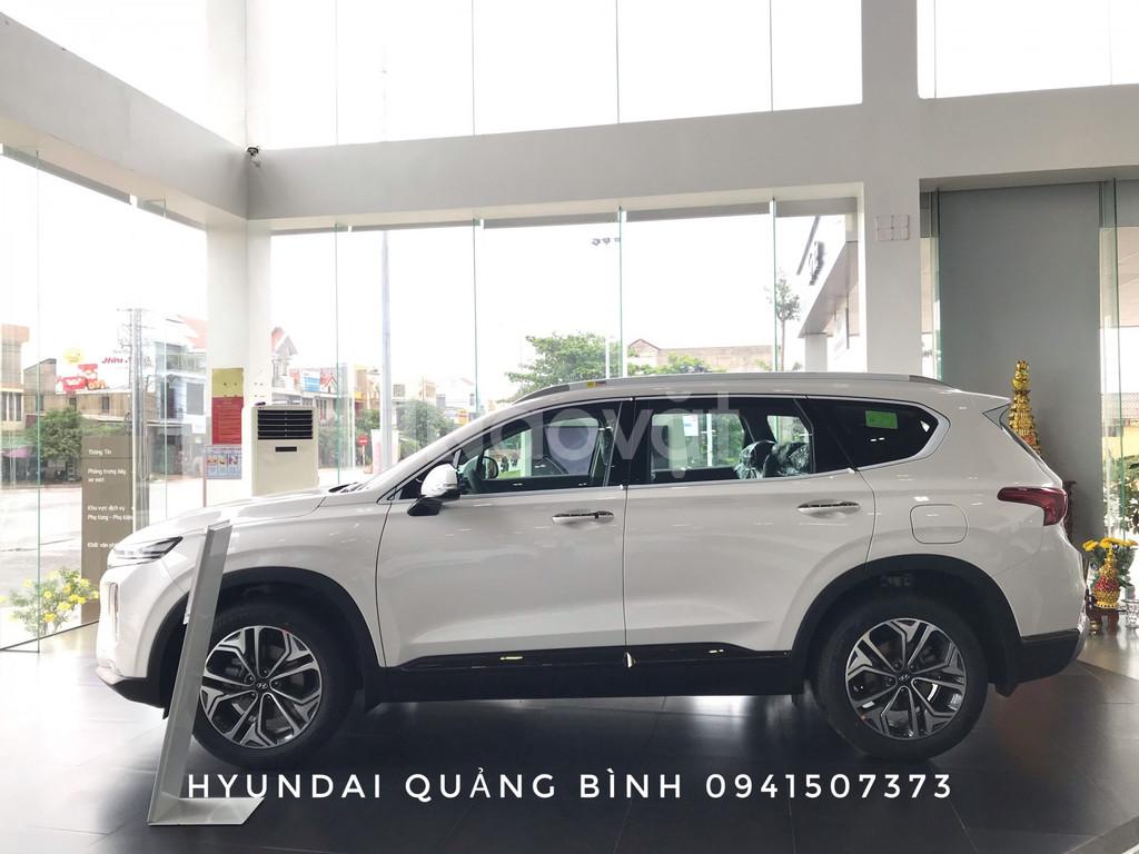 Bán xe Hyundai SantaFE 2019 mới máy xăng đặc biệt, giao xe toàn quốc
