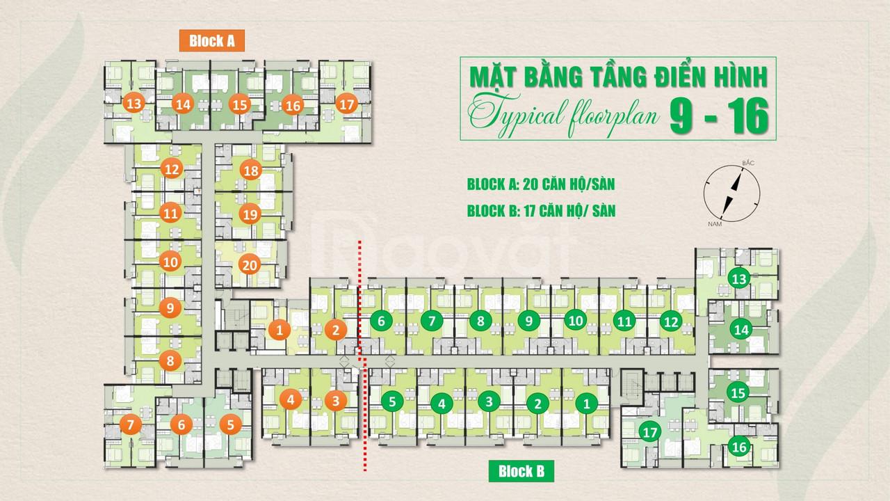 Giá chỉ 29tr/m2 nhận ngay căn hộ hoàn thiện Ricca Quận 9.